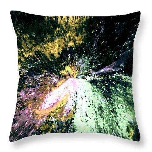 Digital Art Throw Pillow featuring the digital art Fanfare by Kendall Eutemey