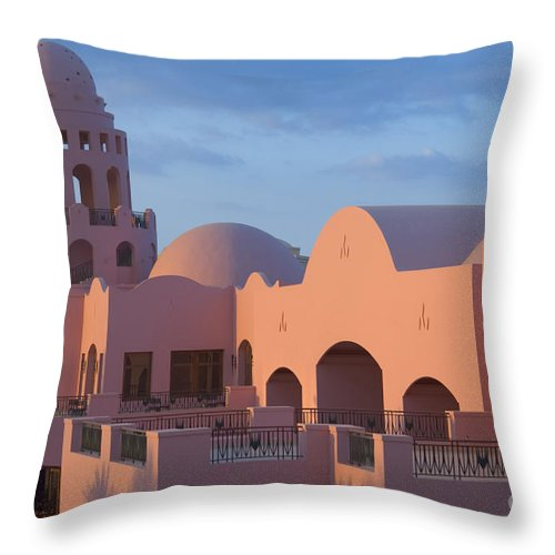 Culture Throw Pillow featuring the photograph Fantasy Castle by Ilan Rosen