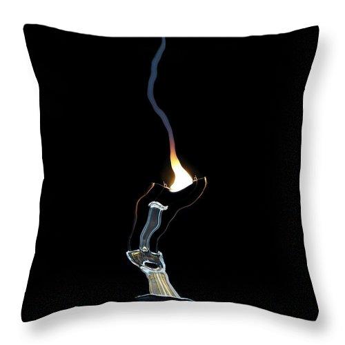 Bulb Throw Pillow featuring the digital art Fault by Michal Boubin