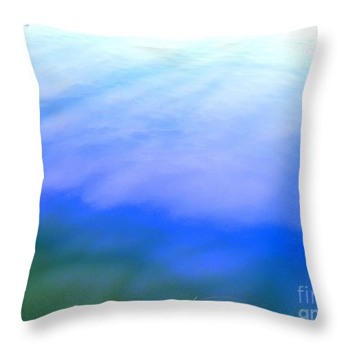 Abstract Throw Pillow featuring the photograph I Feel The Love by Sybil Staples