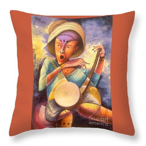 Feelings Throw Pillow For Sale By Masoud Kibwana