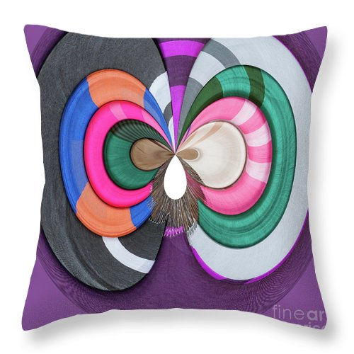 Cambodia Throw Pillow featuring the digital art Finest Silk by George Cathcart