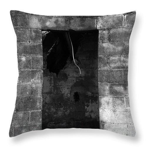 Fire Throw Pillow featuring the photograph Fire by Amanda Barcon