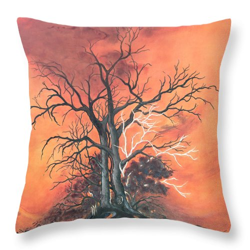 Decorative Pillow Placement : Fire Throw Pillow for Sale by Dawn Broom
