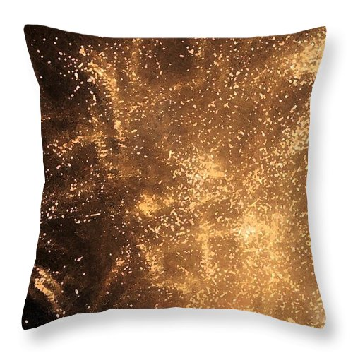 Fireworks Throw Pillow featuring the photograph Fired Up by Debbi Granruth