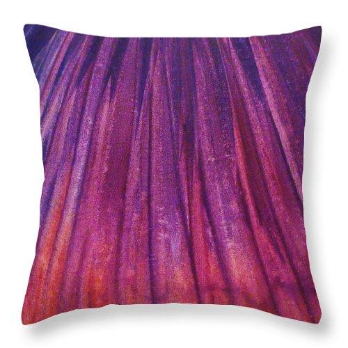 Firework Throw Pillow featuring the painting Fireworks II by Anna Villarreal Garbis