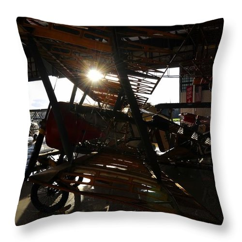 Hanger Throw Pillow featuring the photograph Flights Of Fancy by David Lee Thompson