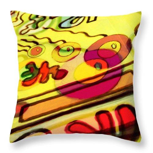 Photography Throw Pillow featuring the digital art Flitflit by Johanna G