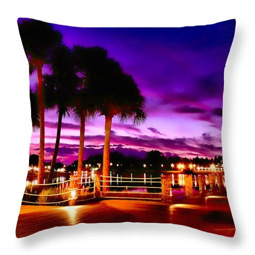 Florida Throw Pillow featuring the photograph Florida Sunrise 3 by Kenneth Krolikowski