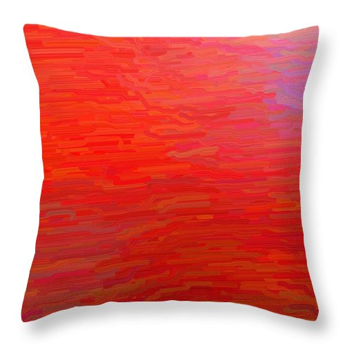 Fluid Throw Pillow featuring the digital art Fluid Motion by April Patterson