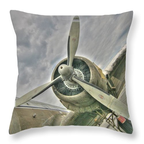 Tiger Lady Throw Pillow featuring the photograph Fly Me Away by Patricia Montgomery