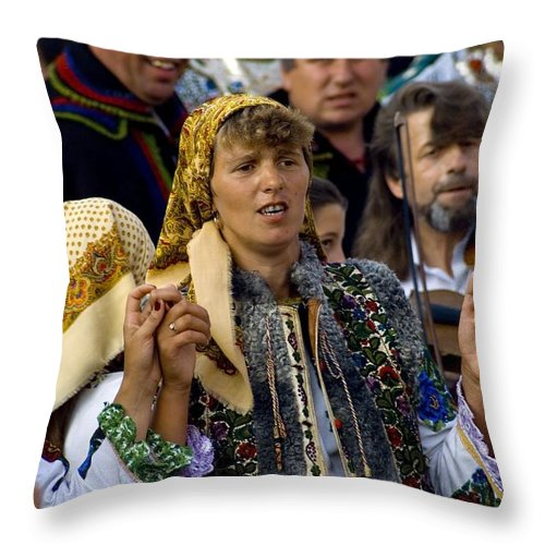 Folklore Throw Pillow featuring the photograph Folklore by Adrian Bud