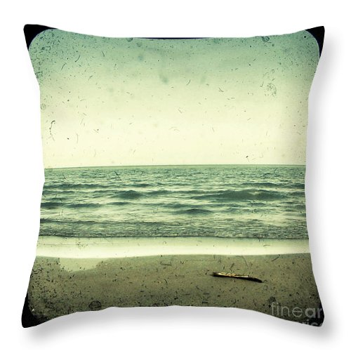 Ttv Throw Pillow featuring the photograph Forget Yesterday by Dana DiPasquale