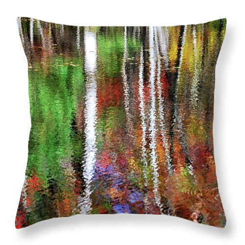 Tree Throw Pillow featuring the photograph Forsaken by Christina Rollo