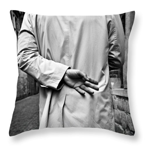 Man Throw Pillow featuring the photograph Four by Dave Bowman