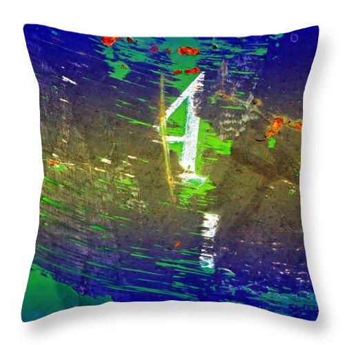 Urban Throw Pillow featuring the photograph Four by Tara Turner