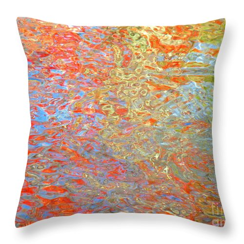 Abstract Throw Pillow featuring the photograph Dimensional Premise by Sybil Staples