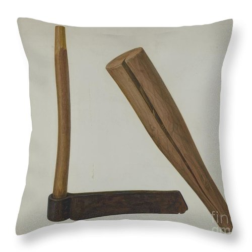 Throw Pillow featuring the drawing Frow And Frow Club by Oscar Bluhme