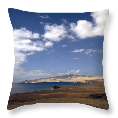 Fuerteventura Throw Pillow featuring the photograph Fuerteventura II by Flavia Westerwelle