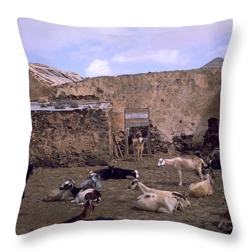 Fuerteventura Throw Pillow featuring the photograph Fuerteventura IIi by Flavia Westerwelle