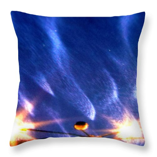 Outer Space Throw Pillow featuring the photograph Galaxies 65 by Stephanie Moore