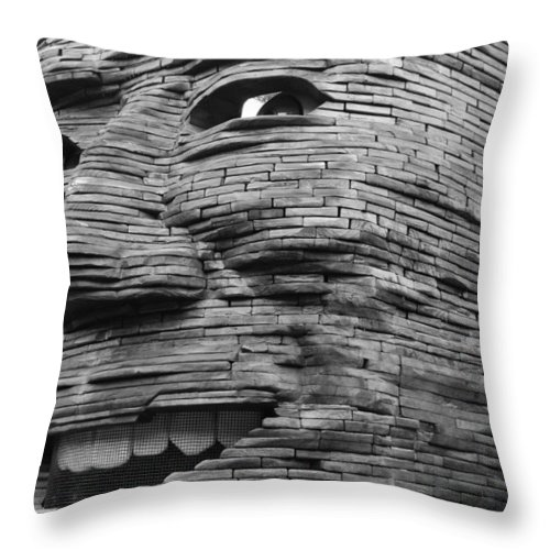 Architecture Throw Pillow featuring the photograph Gentle Giant by Rob Hans