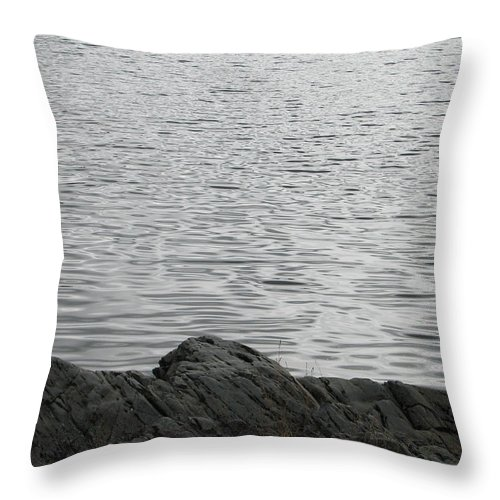 Water Throw Pillow featuring the photograph Gentle Waters by Kelly Mezzapelle