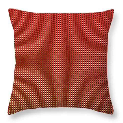 Geometric Art Throw Pillow featuring the digital art Geometric Art 330 by Bill Owen