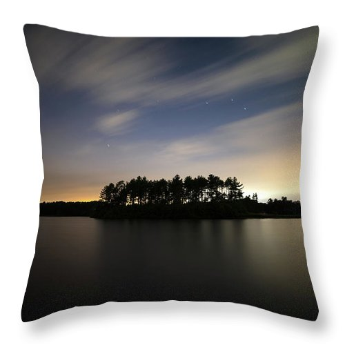 Throw Pillow featuring the photograph Gilligans Island by Brian Hale