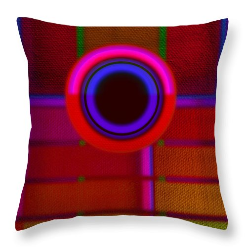 Portal Throw Pillow featuring the painting Ginza by Charles Stuart