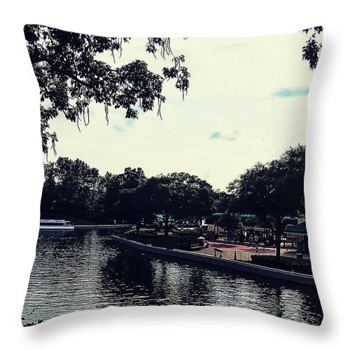 Water Throw Pillow featuring the photograph Glaze by Santiago Acosta