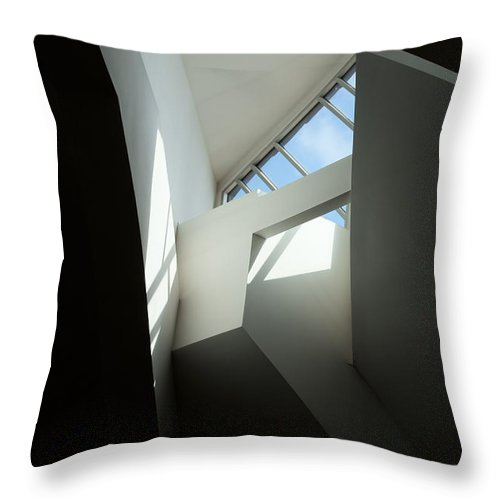 Heaven Throw Pillow featuring the photograph Glimpse Of Heaven by Joanne Smoley