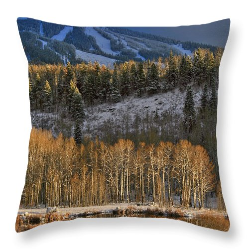 Steamboat Throw Pillow featuring the photograph Glow by Scott Mahon