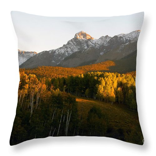 Landscape Throw Pillow featuring the photograph God's Country by David Lee Thompson