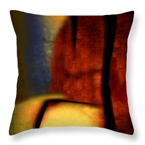 Golf Throw Pillow featuring the painting Golf by Jill English