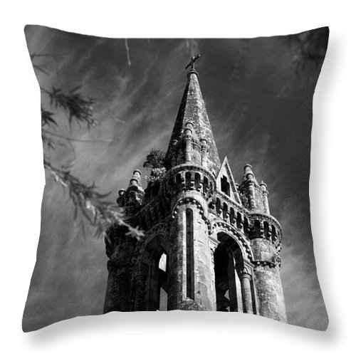 Azores Throw Pillow featuring the photograph Gothic Style by Gaspar Avila