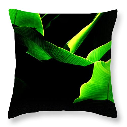 Green Throw Pillow featuring the photograph Green Energy by Michael Mogensen