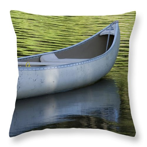 Green Water Throw Pillow featuring the photograph Green Water by Idaho Scenic Images Linda Lantzy