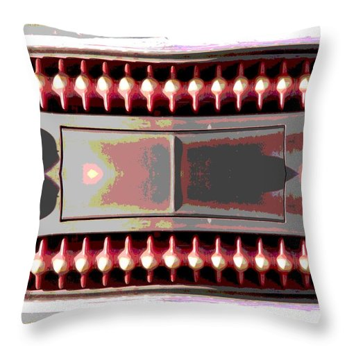 Car Throw Pillow featuring the photograph Grilled by Tim Allen