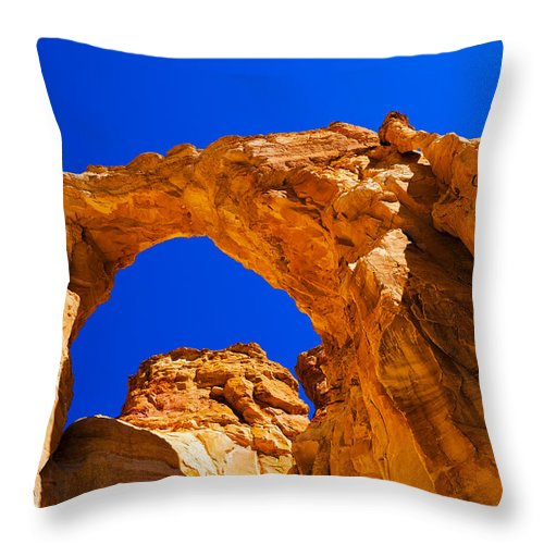 Chad Dutson Throw Pillow featuring the photograph Grosvenor Arch by Chad Dutson