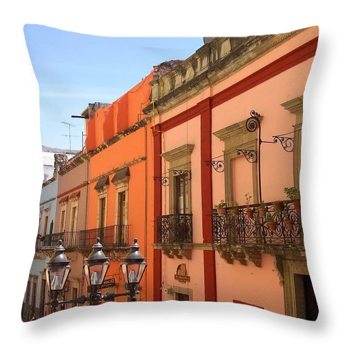Charity Throw Pillow featuring the photograph Guanajuato by Mary-Lee Sanders