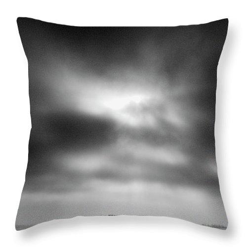 Lehtokukka Throw Pillow featuring the photograph Gulf Of Bothnia Variations Nr 15 by Jouko Lehto