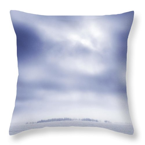 Lehtokukka Throw Pillow featuring the photograph Gulf Of Bothnia Variations Nr 20 by Jouko Lehto