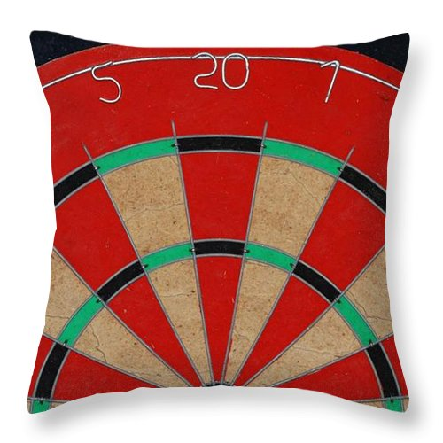 Macro Throw Pillow featuring the photograph Half Board by Rob Hans