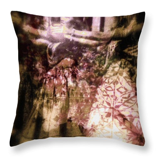 Rainbow Colors Digital Throw Pillow featuring the photograph Hana Aloha by Kenneth Grzesik