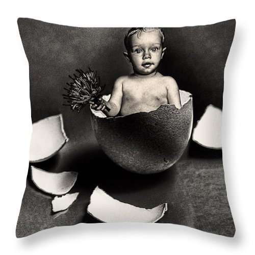 Baby Throw Pillow featuring the photograph Happy Birthday by Joachim G Pinkawa