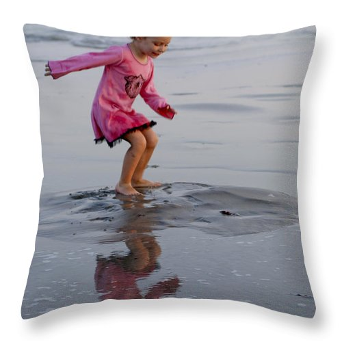 Happy Contest Throw Pillow featuring the photograph Happy Contest 11 by Jill Reger