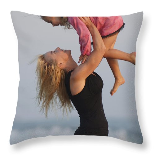Happy Contest Throw Pillow featuring the photograph Happy Contest 12 by Jill Reger