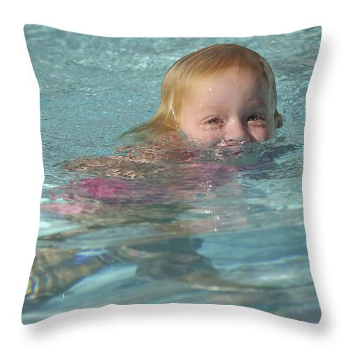 Happy Contest Throw Pillow featuring the photograph Happy Contest 4 by Jill Reger