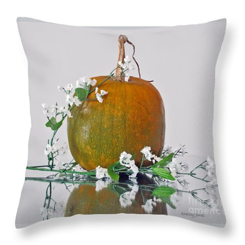 Photography Throw Pillow featuring the photograph Harvest by Shelley Jones